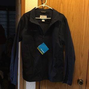 New Navy Large Columbia Jacket